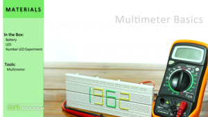 Multimeter-Basics-Experiment-Step-0- Materils and Tools Required