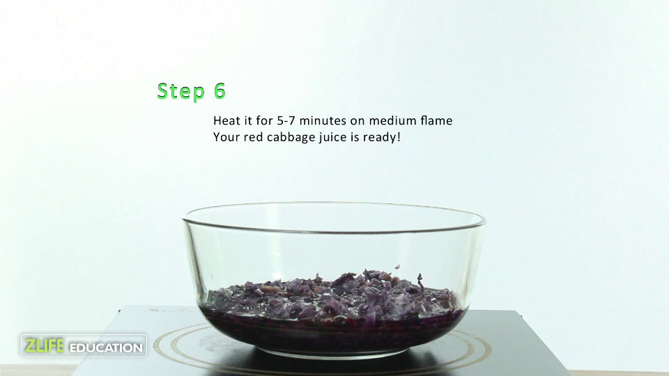 Red Cabbage pH strips 8