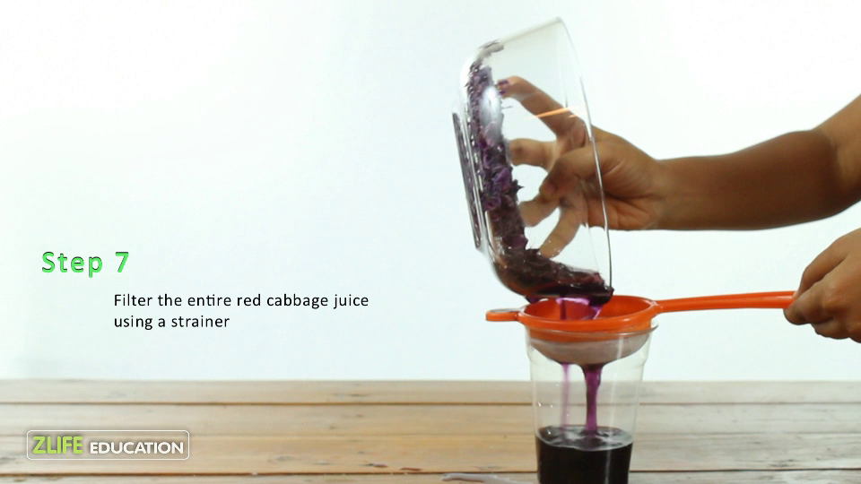 Red Cabbage pH strips 7