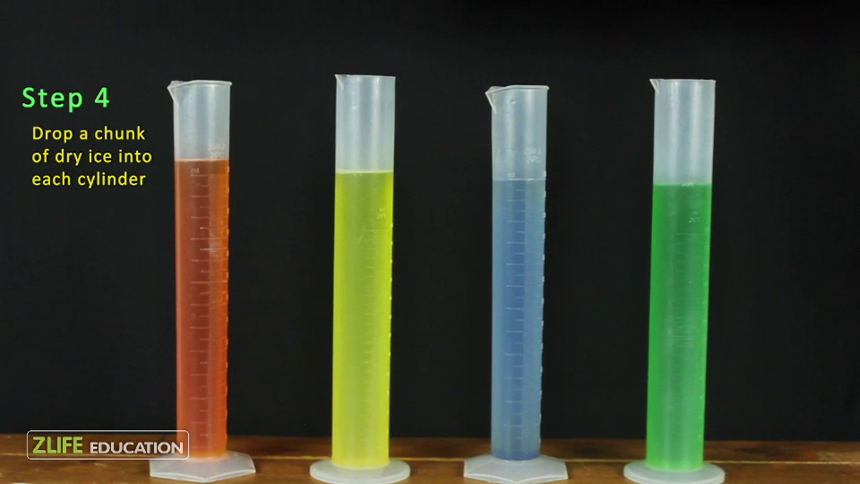 Dry Ice Soap Bubble Tower - Experiment with Dry Ice 2