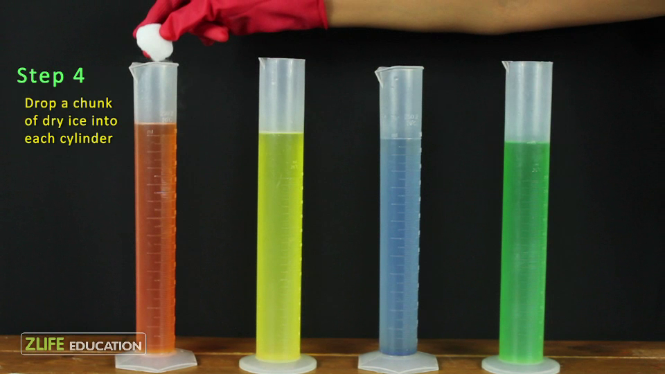 Dry Ice Soap Bubble Tower - Experiment with Dry Ice 1