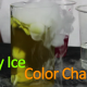 Dry Ice Color Change Science Experiment for kids