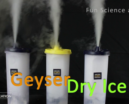 Dry Ice Geyser Experiment Featured Image