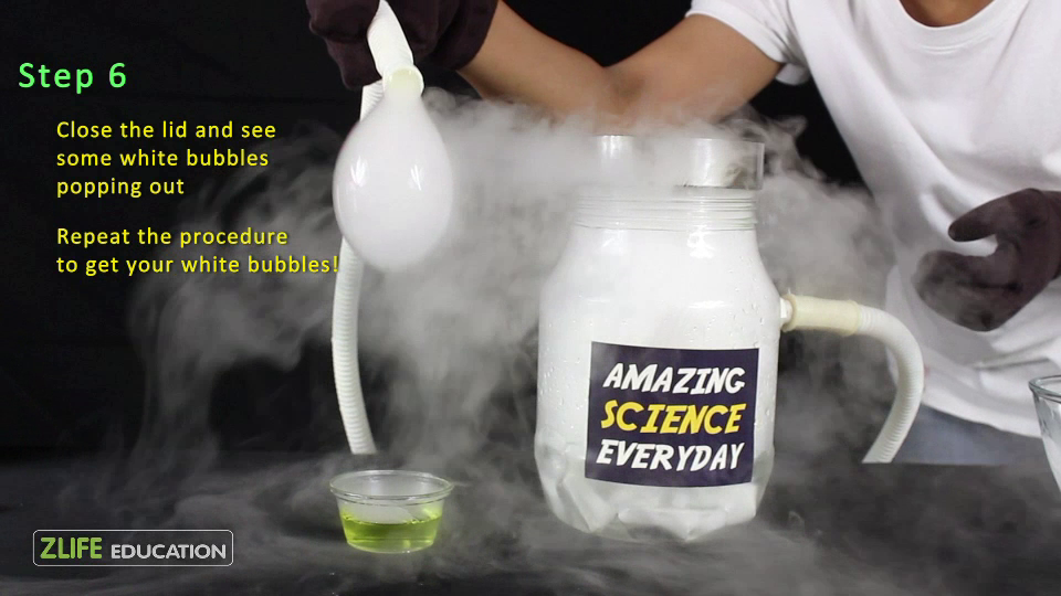 Dry Ice Boo Bubbles 7