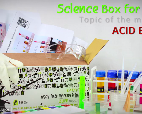 Chemistry and Colors - Science Box 1