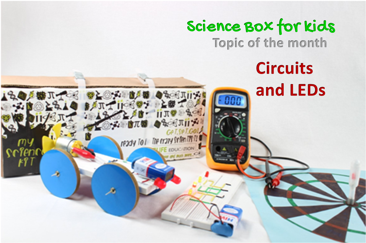 Electronics And Circuits Science Box For Kids Electric Circuit Electronic