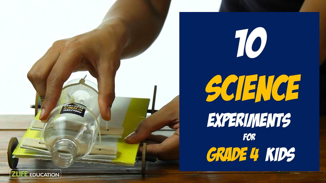 10 Science Experiments For Grade 4 Or 9 11 Years Kids