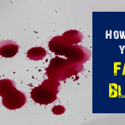 How to make Fake Blood : Recipe for Kids 1
