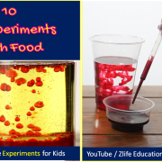 Top 10 Experiments with Food Items at Home