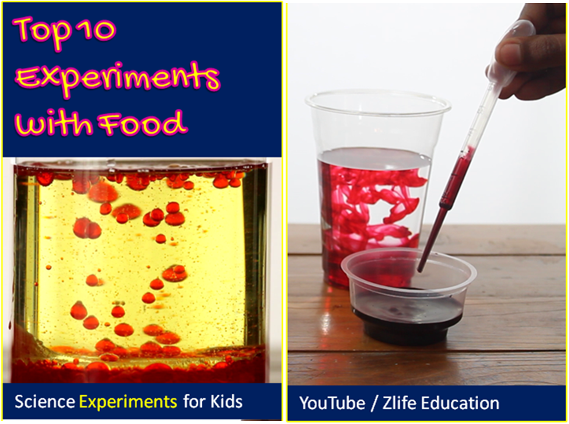 experiments food science edible items cool