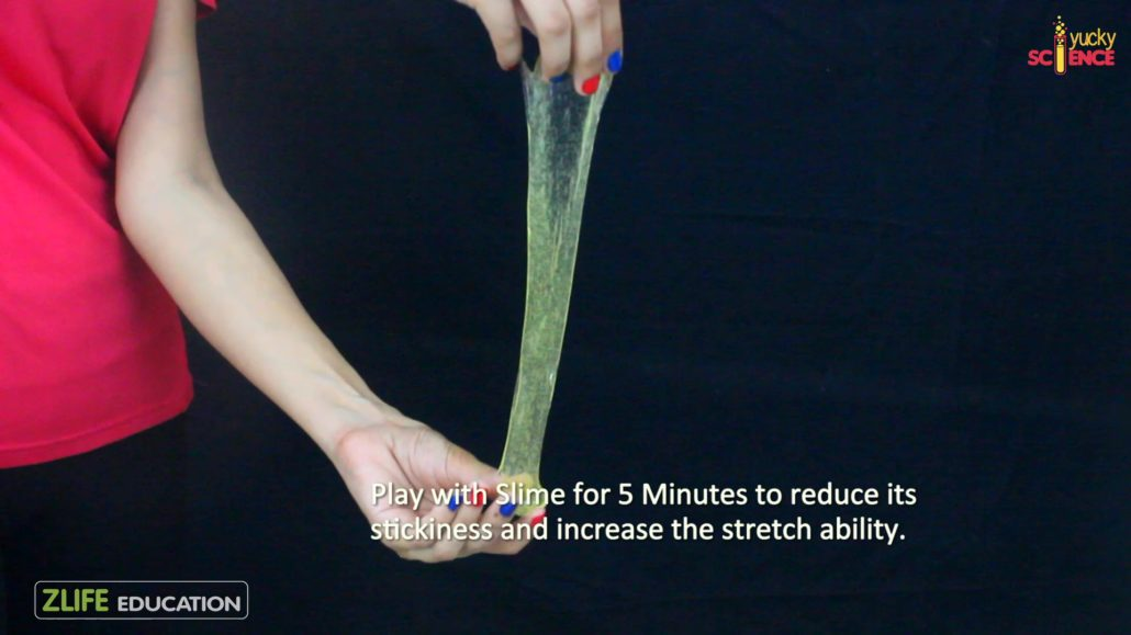 How to make stretchy clear slime no borax
