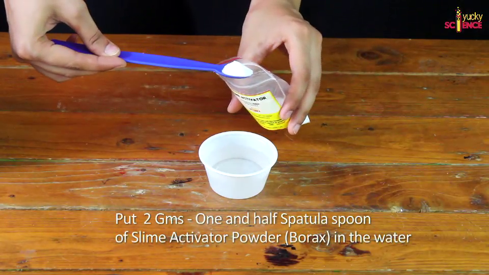 how to make slime activator with borax